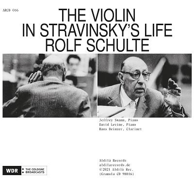 ストラヴィンスキーの生涯におけるヴァイオリン