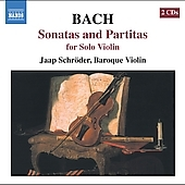 ヤープ・シュレーダー/J.S.Bach:Sonatas And Prtitas For Solo Violin:Sonata No.1/Partita No.1/Sonata No.2/Partita No.2/Sonata No.3/Partita No.3/Jaap Schroder[8557563]