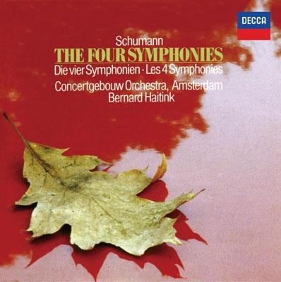 ベルナルト・ハイティンク/シューマン: 交響曲全集, 序曲《ゲノヴェーヴァ》, 《マンフレッド》序曲 [PROC-1355]