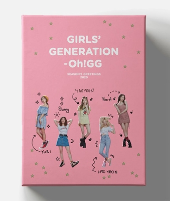少女時代-OH! GG 2020 SEASON'S GREETINGS [CALENDAR+DVD+GOODS] Book