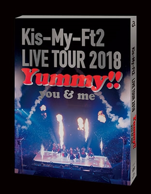 LIVE TOUR 2018 Yummy!! you&me<通常盤/初回限定スリーブケース仕様> DVD