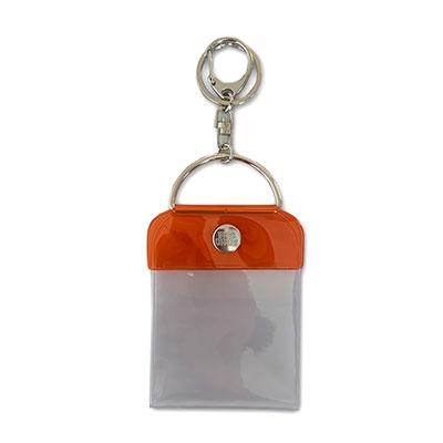 タワレコ 缶バッジキーホルダー57mm用 Orange[MD01-5819]