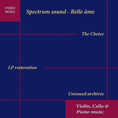 「ザ・チョイス~LP復刻とINAアーカイヴ」(ヴァイオリン、チェロとピアノ)<完全限定盤>