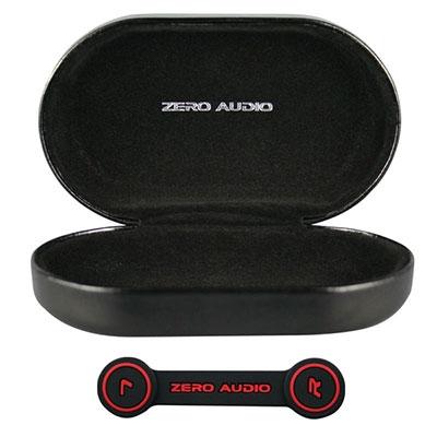 ZERO AUDIO BANECHOイヤホンケース(ヘッドホンクリップ付)/グロスブラック [ZA-BN-GBK]