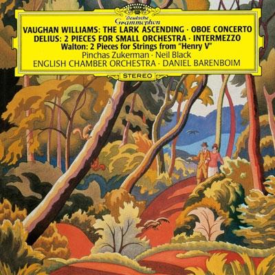 ダニエル・バレンボイム/イギリス管弦楽傑作集 - ヴォーン・ウィリアムズ: グリーンスリーヴズによる幻想曲, 舞い上がるひばり, オーボエ協奏曲, 他<タワーレコード限定>[PROC-1315]