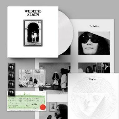 John Lennon &Yoko Ono/Wedding Album (50th Anniversary Edition)(White Vinyl) [LP+グッズ+ブックレット]<完全生産限定盤>[SC291LPC1]