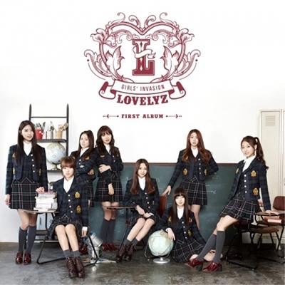 Girls' Invasion: Lovelyz Vol.1 CD