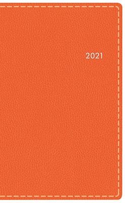 高橋書店 手帳は高橋 T'beau (ティーズビュー) 日曜始まり 6 [オレンジ] 手帳 2021年 手帳判 ウィークリー 皮革調 オレンジ No.333 (2021年版1月始まり)[9784471803339]