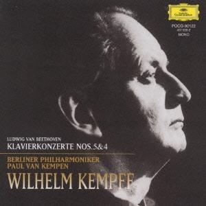 ベートーヴェン:ピアノ協奏曲第5番≪皇帝≫/第4番<限定盤>