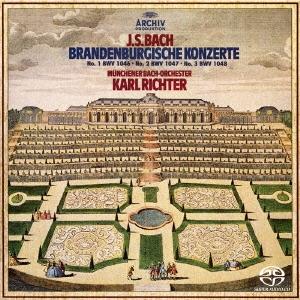 J・S・バッハ:ブランデンブルク協奏曲第1番-第3番 [SACD[SHM仕様]]<初回生産限定盤>