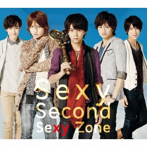Sexy Second [CD+DVD+ドバイ・スペシャルフォトブック]<初回限定盤A> CD