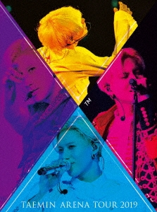 TAEMIN ARENA TOUR 2019 ~XTM~ [2Blu-ray Disc+PHOTO BOOKLET]<初回限定盤> Blu-ray Disc