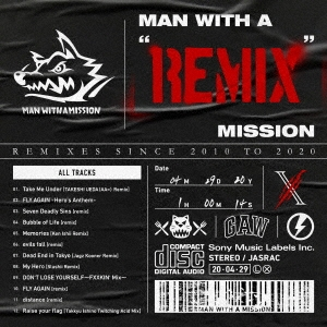 "MAN WITH A ""REMIX"" MISSION CD"