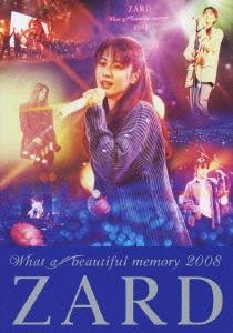 ZARD What a beautiful memory 2008 DVD
