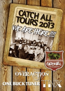 TNX/CATCH ALL TOURS 2013 ~WE ARE HERE!!!!~ [CADVD-9001]
