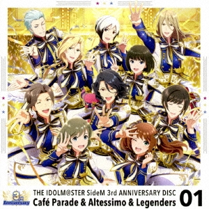 THE IDOLM@STER SideM 3rd ANNIVERSARY DISC 01 12cmCD Single