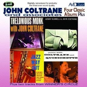 John Coltrane/ジョン・コルトレーン|フォー・クラシック・アルバムズ・プラス [AMSC-1023J]