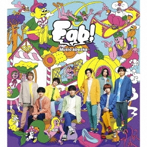 Fab! -Music speaks.- [CD+DVD+大型歌詞フォトブックレット]<初回限定盤1> CD