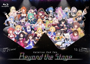 hololive 2nd fes. Beyond the Stage Blu-ray Disc