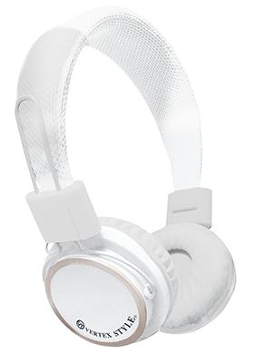 VERTEX 密閉式ダイナミック型ヘッドホン VTH-OH02 White [VTH-OH02WH]