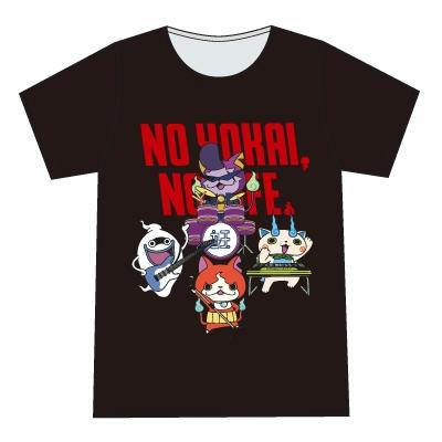 妖怪ウォッチ T-shirt バンド(大人用) Black Mサイズ [4543112960757]