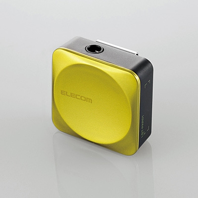 ELECOM Bluetoothレシーバー SMALL/グリーン [LBT-PAR01AVGN]