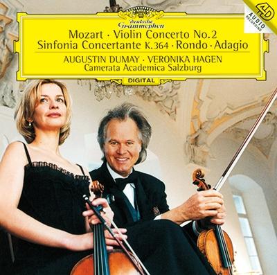 オーギュスタン・デュメイ/モーツァルト: 協奏交響曲K.364、ヴァイオリン協奏曲 第2番 他<タワーレコード限定>[PROC-1524]