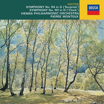 ピエール・モントゥー/ハイドン: 交響曲第94番「驚愕」・第101番「時計」; シューベルト: 「ロザムンデ」から [PROC-1577]