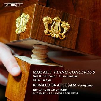 ロナルド・ブラウティハム/Mozart: Piano Concertos No.8, No.11 & No.13 [BISSA2074]