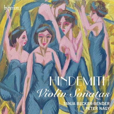 タニヤ・ベッカー=ベンダー/Hindemith: Violin Sonatas [CDA68014]