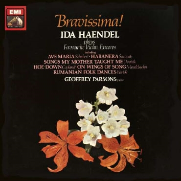 イダ・ヘンデル/Bravissima! - Ida Haendel plays Favourite Violin Encores [ASD3785]