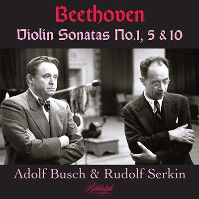 ベートーヴェン: ヴァイオリン・ソナタ第1番、第5番、第10番