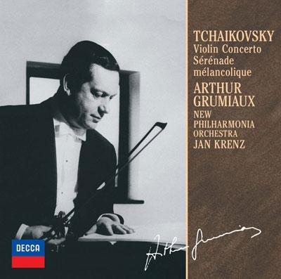 アルテュール・グリュミオー/チャイコフスキー:ヴァイオリン協奏曲/憂鬱なセレナード<限定盤>[UCCD-9848]