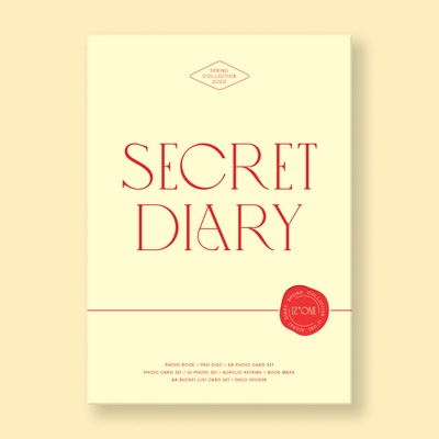 IZ*ONE SPRING COLLECTION [SECRET DIARY](PHOTOBOOK PACKAGE) [BOOK+DVD+GOODS] Book