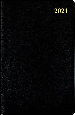高橋書店 手帳は高橋 ビジネス手帳 〈小型版〉 5 [黒] 手帳 2021年 手帳判 ウィークリー 皮革調 黒 No.144 (2021年版1月始まり)[9784471801441]