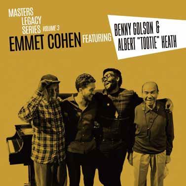 Emmet Cohen/MASTERS LEGACY SERIES VOL.3 BENNY GOLSON &TOOTIE HEATH[MOCLD-1031]