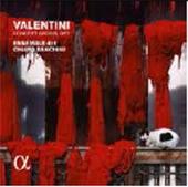 キアラ・バンキーニ/ヴァレンティーニ: 四つのヴァイオリンを伴う協奏曲集 Op.7より [ALPHA310]