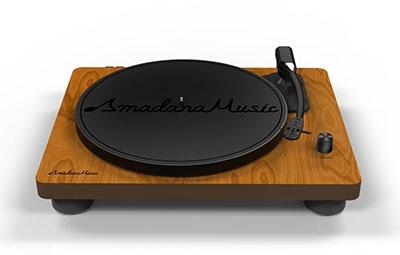 Amadana Music レコードプレーヤー [UIZZ-18520]