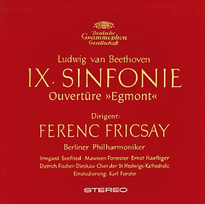 フェレンツ・フリッチャイ/ベートーヴェン: 交響曲第9番《合唱》, 《エグモント》序曲 [PROC-2104]