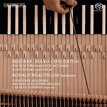 Mozart: Piano Concertos No.14, No.21, Ch'io mi scordi di te? K.505
