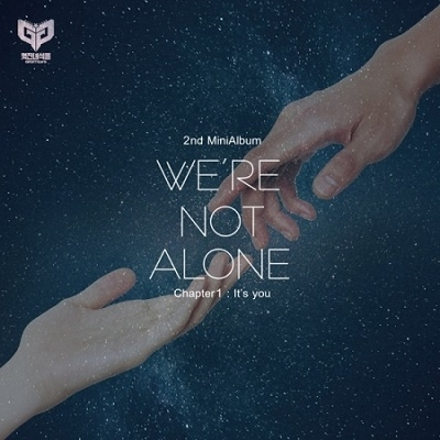 We're not alone_Chapter 1: It's you: 2nd Mini album CD