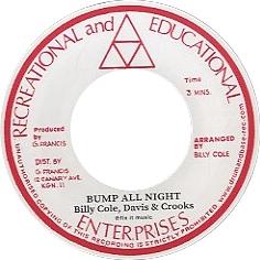 Billy Cole/Bump All Night/Woman[DB-012]