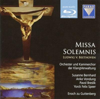Beethoven: Missa Solemnis Op.123 [Blu-ray Audio+CD]
