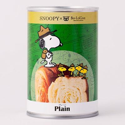 SNOOPY 缶deボローニャ(ビーグルスカウト)/プレーン [4589966308543]