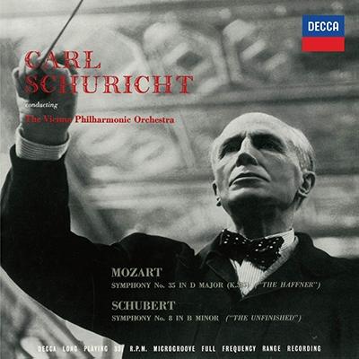カール・シューリヒト/シューベルト: 交響曲第8番《未完成》; モーツァルト: 交響曲第35番《ハフナー》; ブラームス: 交響曲第2番<タワーレコード限定>[PROC-1627]