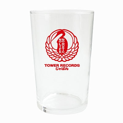 TOWER RECORDS じゃぱん グラス 赤 Accessories