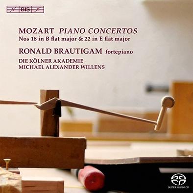 ロナルド・ブラウティハム/Mozart: Piano Concertos No.18 & No.22 [BISSA2044]