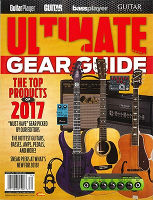 GUITAR WORLD BUYER'S GUIDE 2017年 [01524]