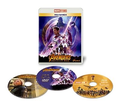 アベンジャーズ/インフィニティ・ウォー MovieNEX [Blu-ray Disc+DVD]<初回限定仕様> Blu-ray Disc