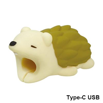 CABLE BITE for Type-C USB/ハリネズミ[VRT42694]